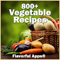 800+ Vegetable Recipes No Adds icon