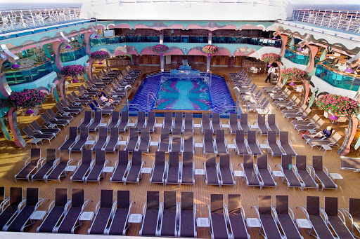 Carnival-Splendor-Lido-Pool - The Lido Pool aboard Carnival Splendor.