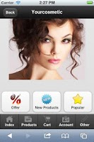 Screenshot of Yourcosmeticshop