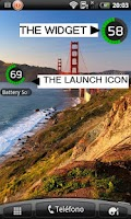 Screenshot of Battery Solo Widget