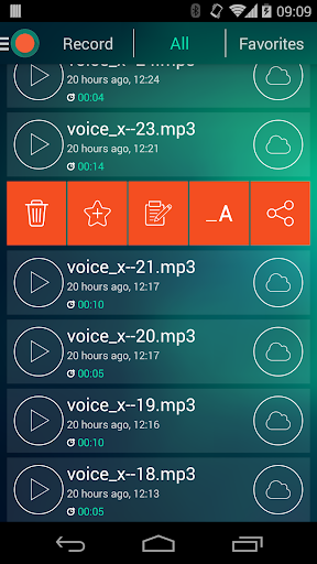 Voice Recorder - Dictaphone 2.6 screenshots 5