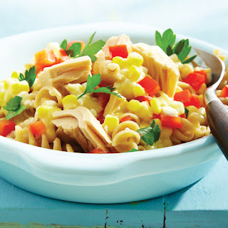 Creamed Corn & Tuna Spirals