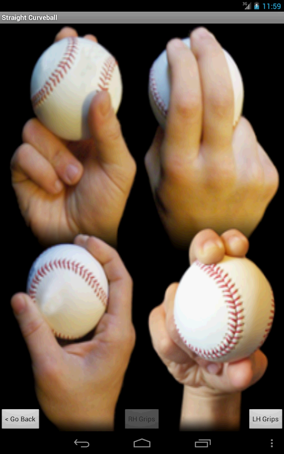 Pitching Hand Pro- screenshot