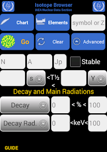 Isotope Browser- screenshot thumbnail