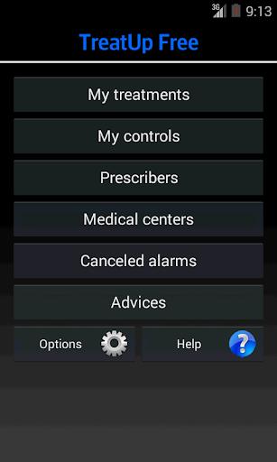 TreatUp Free medical agenda