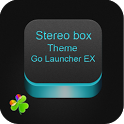 Stereo Box Theme Go Launcher icon