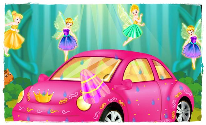 Princess Car Wash - screenshot