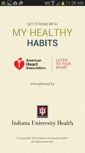 My Healthy Habits- screenshot thumbnail