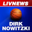 LivNews: Dirk Nowitzki logo