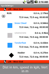 Gps Ski Maps USA/CAN 5 resorts - screenshot thumbnail