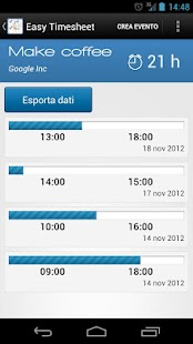 Easy Timesheet- screenshot thumbnail
