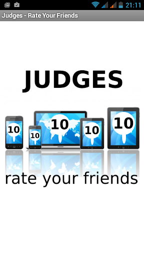 Judges - Rate your Friends
