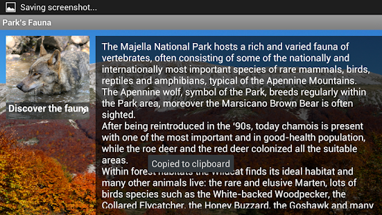 Majella National Park- Abruzzo screenshot