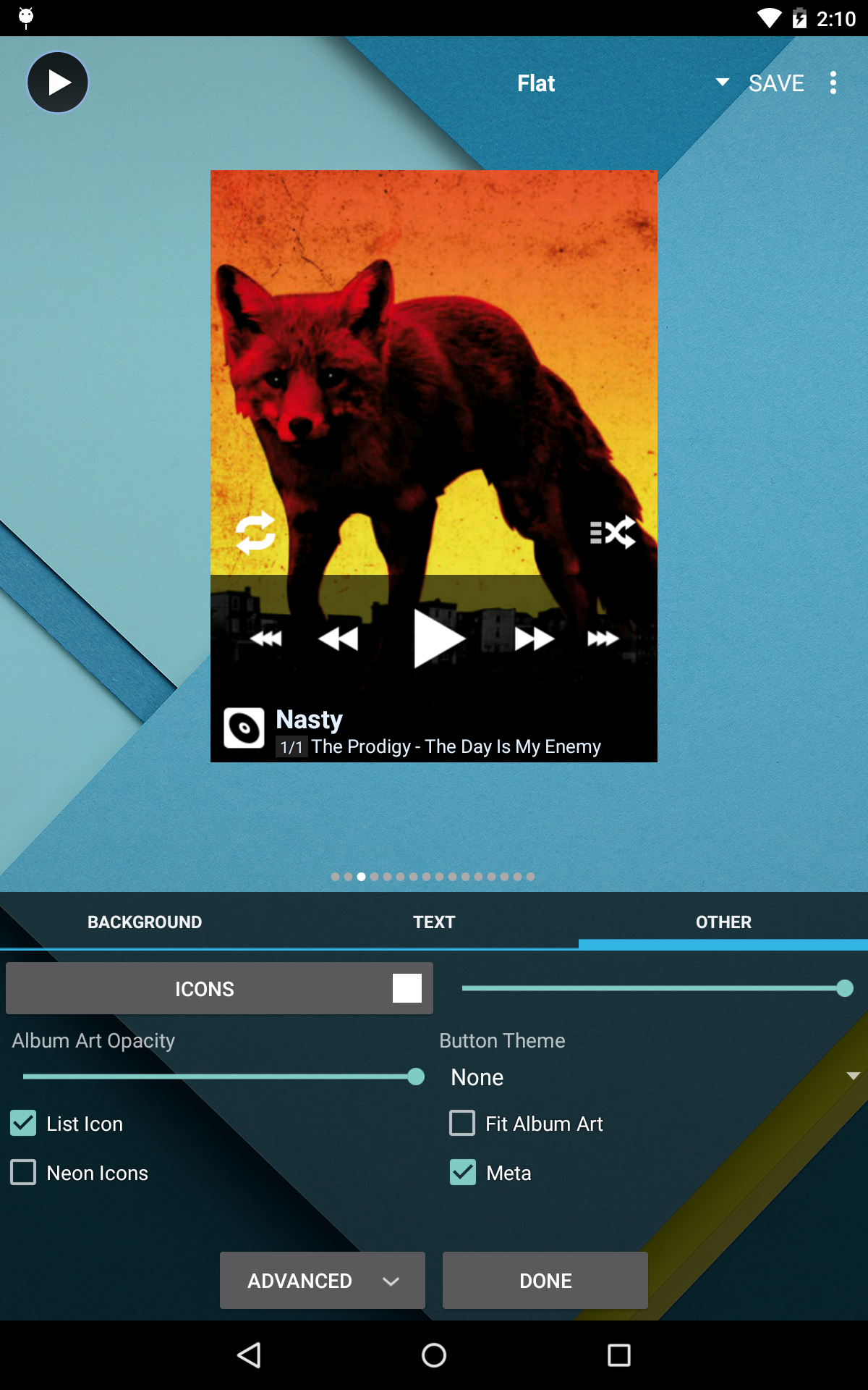 Poweramp Music Player (Trial) screenshot #23