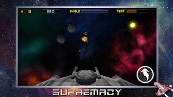 Screenshot of Supremacy. 3D space warfare.