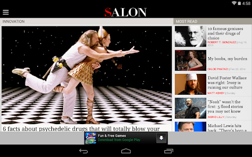 Salon.com- screenshot thumbnail