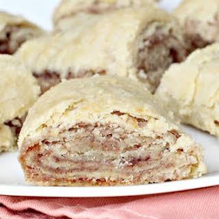 Pie Crust Cinnamon Rolls.