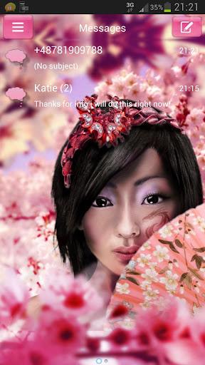日本女孩GO短信加強版
