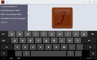 Screenshot of JotterPad HD (Legacy)