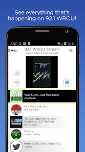 92.1 WROU- screenshot thumbnail
