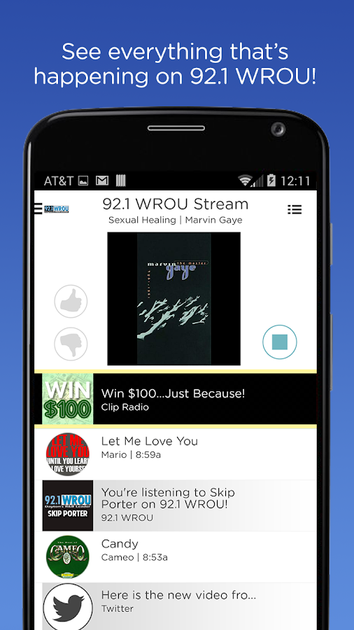 92.1 WROU- screenshot