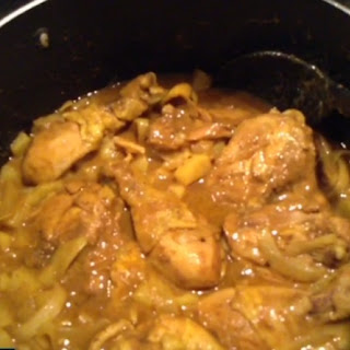 Easy Jamaican Curried Chicken