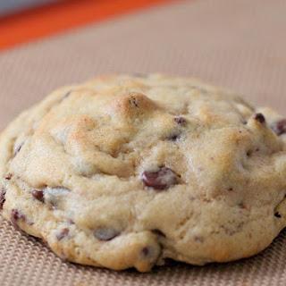 Giant Hershey Kiss Stuffed Chocolate Chip Cookies