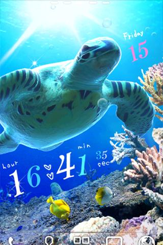 Sea Turtle LiveWallpaper Trial- screenshot
