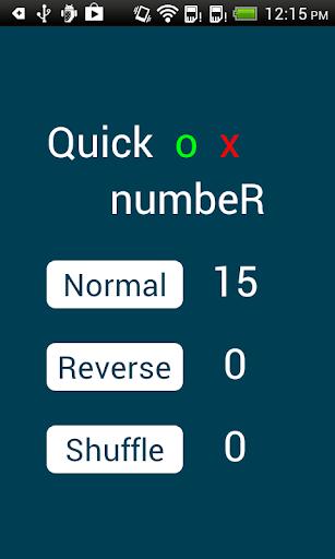 Quick Number