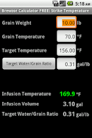 Screenshot of Brewzor Calculator FREE