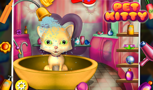 Pet Kitty Spa Care