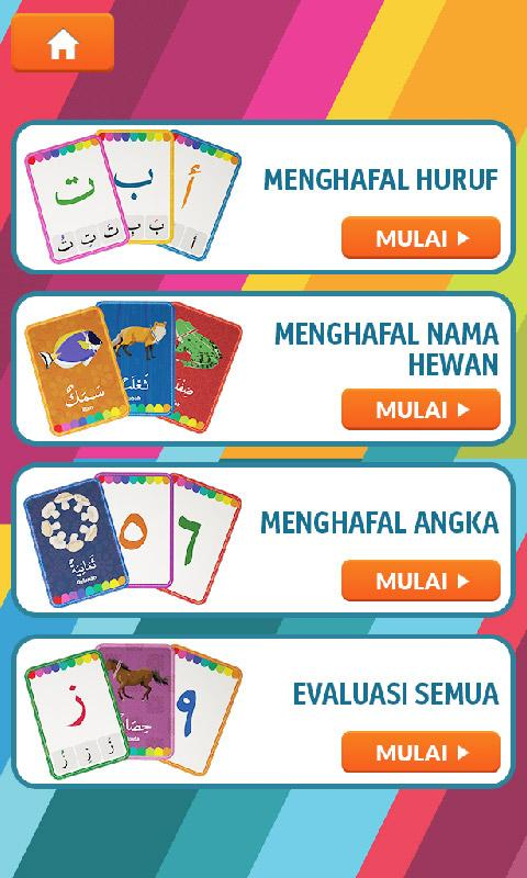 Flashcards huruf hijaiyah screenshot