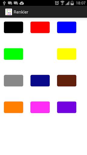 Sesli Renkler