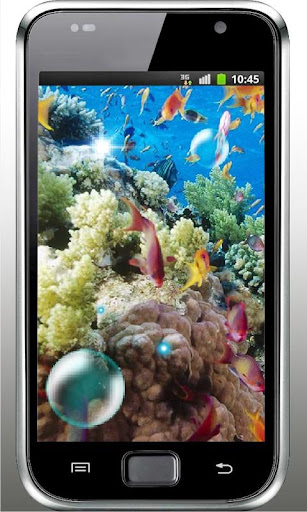 Fishes Coral Reef Screen LWP
