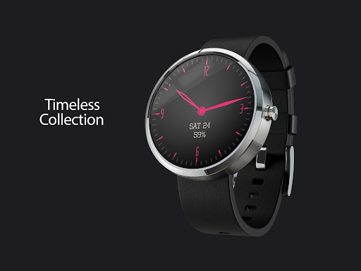 Timeless-Pink Watch Face