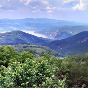 Danube bend by Tom Dienes - Landscapes Mountains & Hills ( hills pilis panorama motorola )