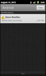 Omni Notifier ( watchdog )- screenshot thumbnail