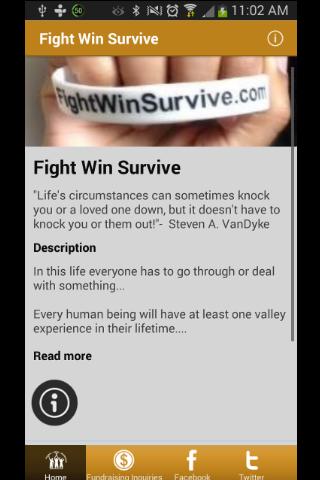 Fight Win Survive