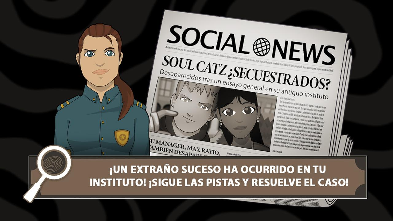 HIGH SCHOOL MYSTERY: captura de pantalla