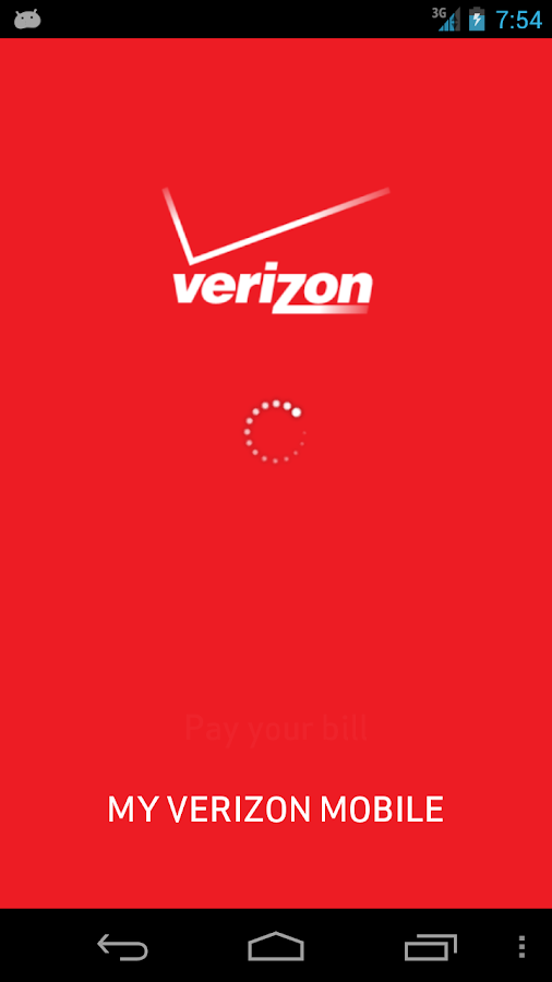 My Verizon Mobile - screenshot