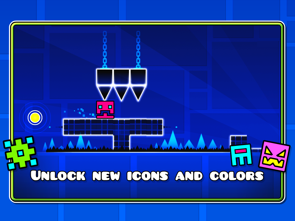 Geometry Dash Mod Apk (Unlimited Money/Diamonds) Unlocked All 6