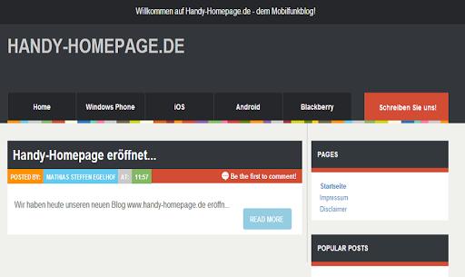 Handy-Homepage.de