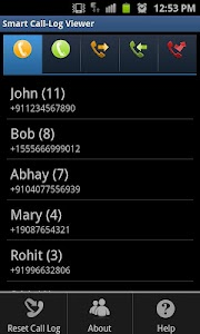 Smart Call-Log Viewer screenshot 0