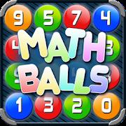 Math Balls. Number game
