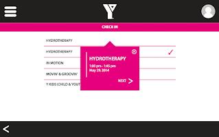 Screenshot of YMCA HBB