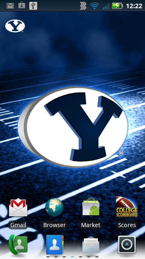 BYU Revolving Wallpaper - screenshot