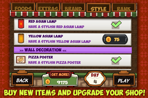 My Pizza Shop - Italian Pizzeria Management Game cheat screenshots 2