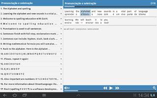 Screenshot of Inglês para negócios