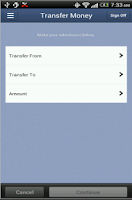 Screenshot of Altamaha Bank Mobile