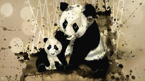 Panda Art HD Wallpaper